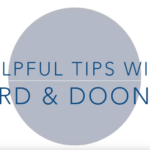 Ford & Doonan Tips